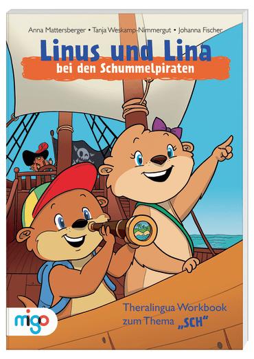 Linus und Lina Schummelpiraten Cover
