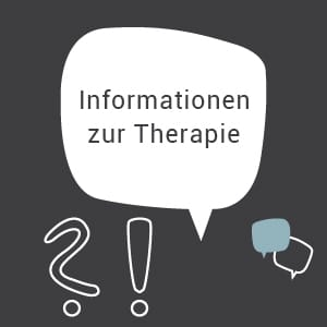 Informationen zur Therapie Logopädie Link Button